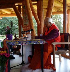 Wangdenling: Silvestrovský retreat