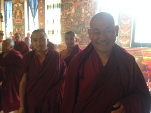 Víkend s desiatimi mníchmi z kláštora Dordže Drak