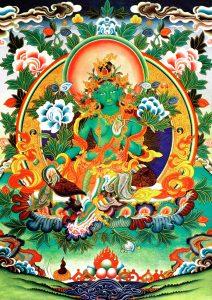 Wangdenling: Zelená Tára