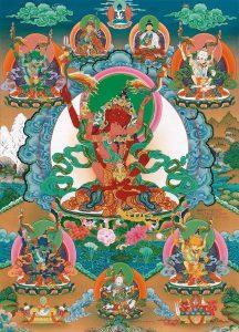 Wangdenling: retreat praxe dlhého života Guru Amitájusa